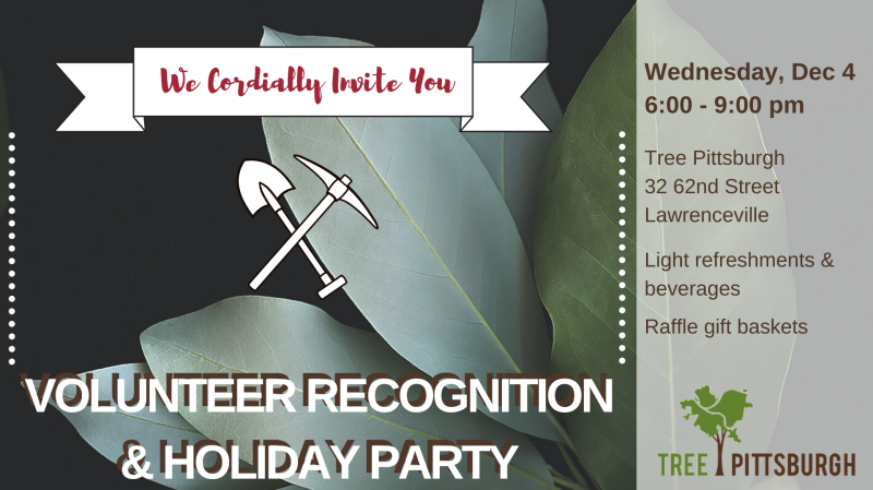 volunteer party graphic