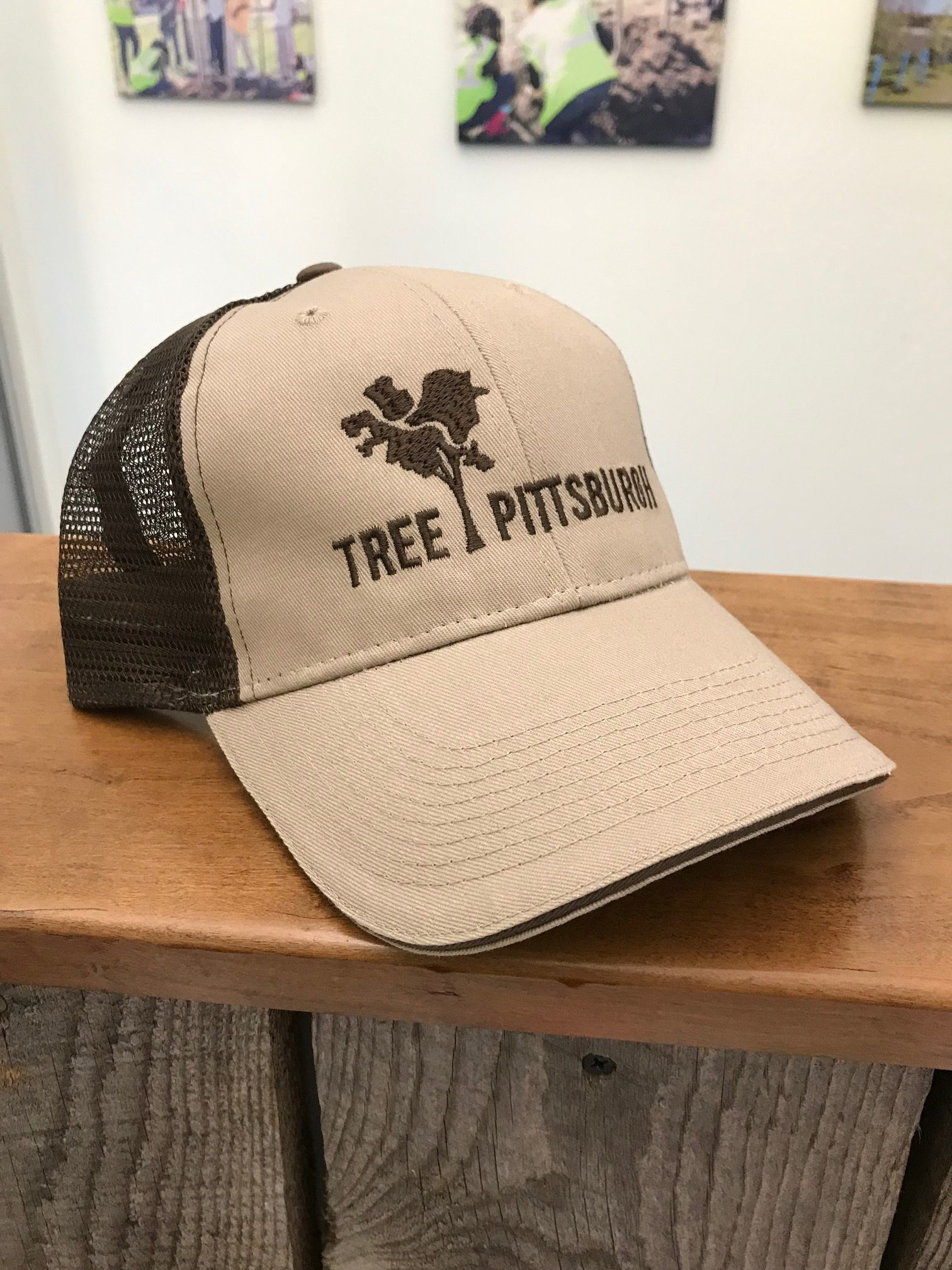 Brown Trucker Hat